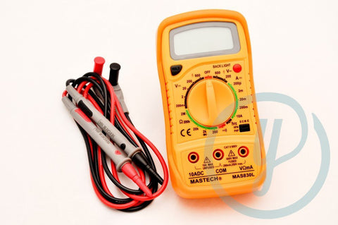 The Source - Professional Digital Multimeter -  - Lawn and Garden  - Yard Outlet