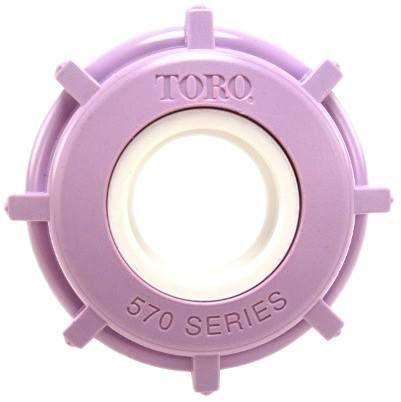 Reclaimed Water Snap-on Cap Cover - Toro
