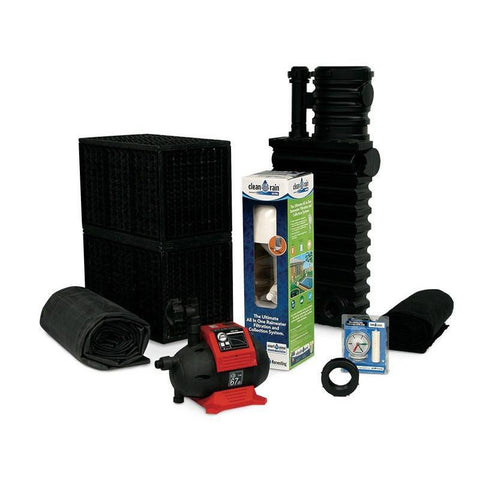 Atlantic Water Gardens - Atlantic Water Gardens - RHKIT500EBS 500 gallon Rain Harvesting Kit -  - Lawn & Garden  - Yard Outlet