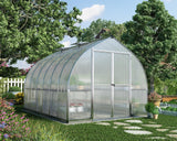 Palram - HG5412 - Bella 8' x 12' Hobby Greenhouse - Silver - Poly-Tex