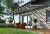 Palram - HG9420 - Feria Patio Cover 10' x 20' Gray - Poly-Tex