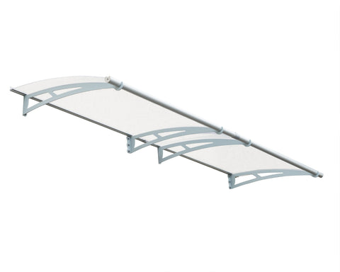 Palram - HG9503 - Aquila 3000 Awning - Clear - Poly-Tex