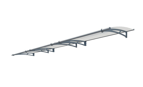 Palram - HG9505 Aquila 4500 Awning - Clear - Poly-Tex