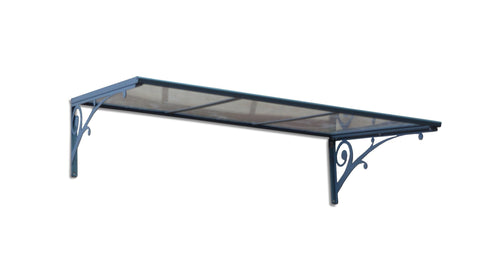 Palram - HG9540 - Aries 1350 Awning - Clear - Poly-Tex