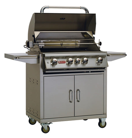 Bull Outdoor Products - Bull BBQ Angus Grill Cart with Twin Lighting System, Propane and Natural Gas Option - Bull Outdoor Products