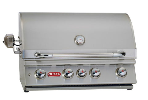 Bull Outdoor Products - 47628 Bull BBQ Angus Drop In Unit with Lights, Propane and Natural Gas Option - Bull Outdoor Products