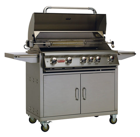 Bull Outdoor Products - 55000 Bull BBQ Brahma Cart with Twin Lighting System, Propane and Natural Gas Option - Bull Outdoor Products