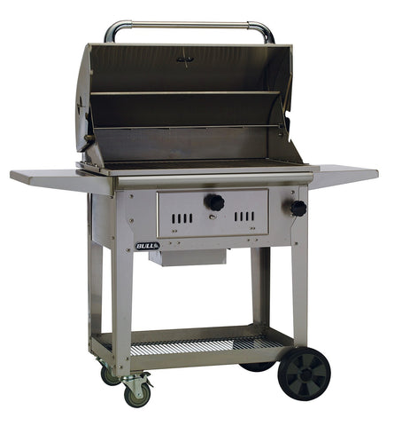 Bull Outdoor Products - Bull Outdoor Products - 67531 Bull BBQ Bison Charcoal Grill Cart -  - Outdoor Cooking  - Yard Outlet - 1