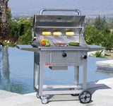 Bull Outdoor Products - Bull Outdoor Products - 67531 Bull BBQ Bison Charcoal Grill Cart -  - Outdoor Cooking  - Yard Outlet - 3