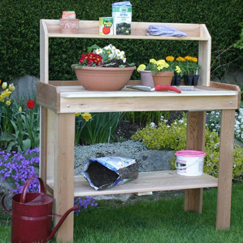 Outdoor Living Today - 4 x 2 Potting Bench - Outdoor Living Today