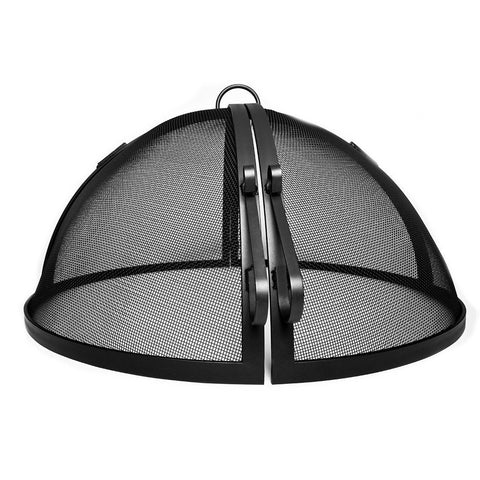 Aspen Industries - Hinged Round Model Large Screen 27- 28 Inches in Carbon Steel, Hybrid Carbon Steel,304 Stainless Steel Painted or Unpainted - Aspen Industries, INC
