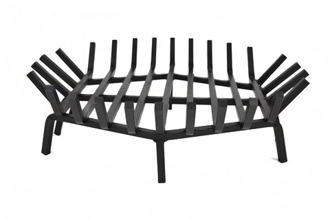 ... Aspen Industries - Round Fire Pit Grate 24 Inches in Carbon Steel or  Stainless Steel Option ... - Aspen Industries - Round Fire Pit Grate 24 Inches In Carbon Steel Or