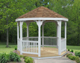 Creekvine Designs - Creekvine Designs, 10 Foot Vinyl Gazebo -  - Outdoor Living  - Yard Outlet - 2