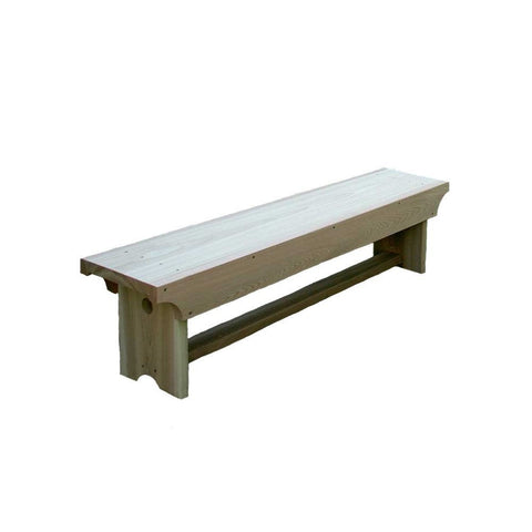 Creekvine Designs - Creekvine Designs, 5 Foot Cedar 1805 Traditional Heavy Duty Bench - Default Title - Outdoor Living  - Yard Outlet - 1