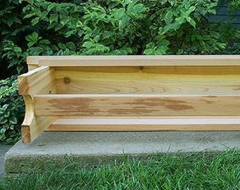 Creekvine Designs 5 Foot Cedar 1805 Traditional Heavy Duty Bench