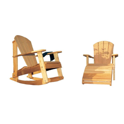 Creekvine Designs - Creekvine Designs, Cedar Adirondack Collection - Default Title - Outdoor Living  - Yard Outlet
