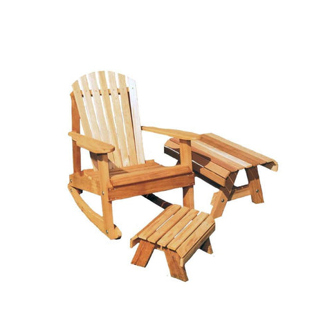 Creekvine Designs - Creekvine Designs, Cedar American Forest Adirondack Rocker Collection - Default Title - Outdoor Living  - Yard Outlet