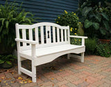 Creekvine Designs - Creekvine Designs, Cedar Keyway Garden Bench -  - Outdoor Living  - Yard Outlet - 4