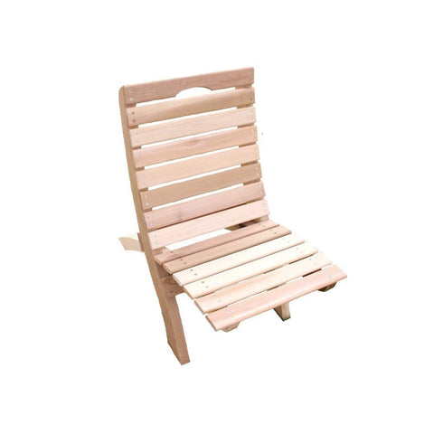 Creekvine Designs - Creekvine Designs, Cedar Traveling Style Folding Chair - Default Title - Outdoor Living  - Yard Outlet