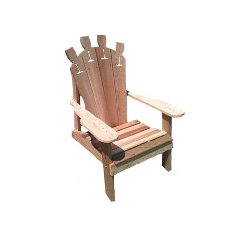 Creekvine Designs - Creekvine Designs, Cedar Wine Glass Adirondack Chair - Default Title - Outdoor Living  - Yard Outlet - 1