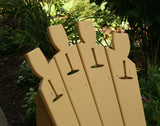 Creekvine Designs - Creekvine Designs, Cedar Wine Glass Adirondack Chair -  - Outdoor Living  - Yard Outlet - 2