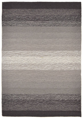 Liora Manne - Indoor and Outdoor Ravella Ombre Charcoal Rug 2258/47 - Liora Manne