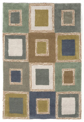 Liora Manne - Indoor and Outdoor Spello Big Square Ocean Rug 2055/04 - Liora Manne