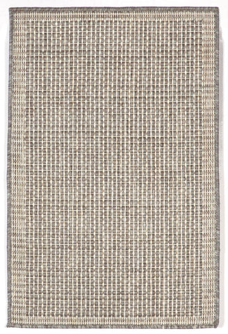 Liora Manne - Indoor and Outdoor Terrace Texture Silver/IV Rug 1762/58 - Liora Manne