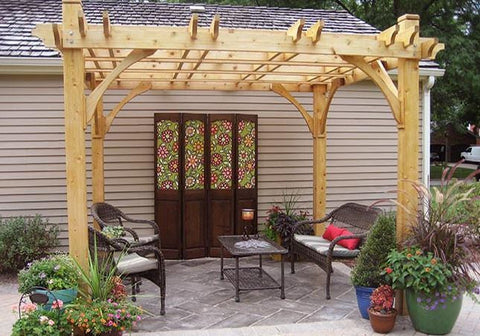 Outdoor Living Today - BZ1010 - 10 x 10 4 Post Breeze Pergola - Outdoor  Living - Outdoor Living Today - BZ1010 - 10 X 10 4 Post Breeze Pergola – Yard