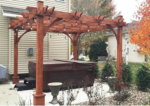 ... Outdoor Living Today - BZ1012 - 10 x 12 Breeze Pergola - Outdoor Living  Today ... - Outdoor Living Today - BZ1012 - 10 X 12 Breeze Pergola – Yard Outlet