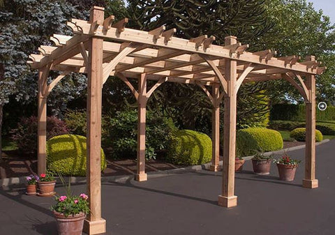 Outdoor Living Today - 10 x 16 6 Post Breeze Pergola - Outdoor Living Today