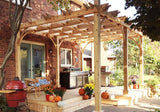 Outdoor Living Today - BZ1016 - 10 x 16 6 Post Breeze Pergola - Outdoor Living Today