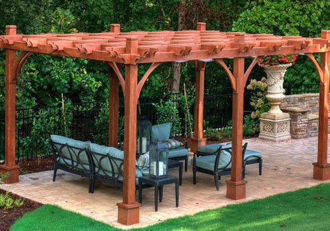 Outdoor Living Today - BZ1216 - 12 x 16 6 Post Breeze Pergola - Outdoor Living Today