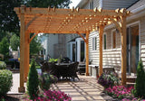 Outdoor Living Today - BZ1220 - 12 x 20 6 Post Breeze Pergola - Outdoor Living Today