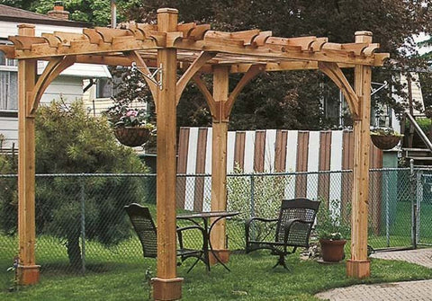 ... Outdoor Living Today - BZ810 - 8 x 10 4 Post Breeze Pergola - Outdoor  Living ... - Outdoor Living Today - BZ810 - 8 X 10 4 Post Breeze Pergola – Yard