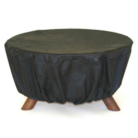 Patina Products - Patina Products - D100 Fire Pit Cover - Black - Default Title - Outdoor Living  - Yard Outlet