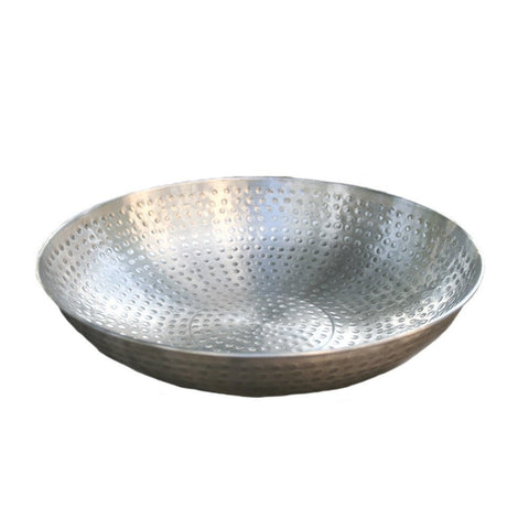 Rainchains - Rainchains - 3145-AL Hand Hammered Aluminum Dish -  - Outdoor Living  - Yard Outlet