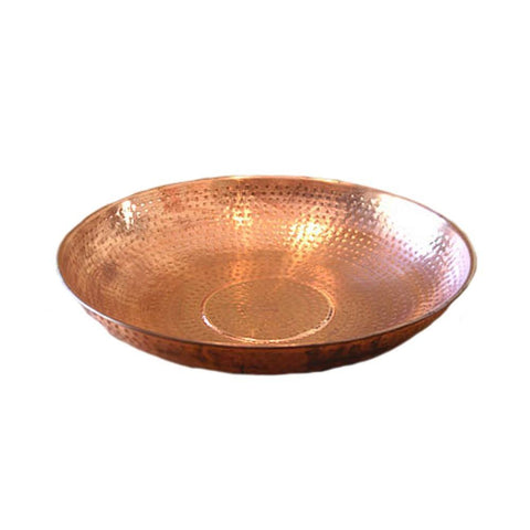Rainchains - Rainchains - 3145 Hand Hammered Copper Dish -  - Outdoor Living  - Yard Outlet - 1