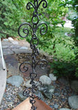 Rainchains - 5151 Fleur-De-Lis Rain Chain with Bronze Powdercoat - Rainchains