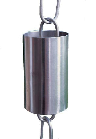 Rainchains - KS286 Kenchiku Stainless Steel Cylinders Rain Chain - Rainchains