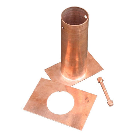 Rainchains - Rainchains - RCR-1-6 6 Inch Copper Installation Kit -  - Outdoor Living  - Yard Outlet - 1