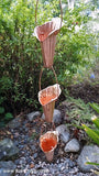 Rainchains - Rainchains - S-101 Cala Lily Cups, Flower Cups, Pure Copper -  - Outdoor Living  - Yard Outlet - 2