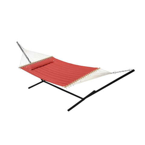 Smart Living Home and Garden - 52325-BNP - Monte Carlo Premium Double Hammock - Bossa Nova Red - Smart Living Home and Garden
