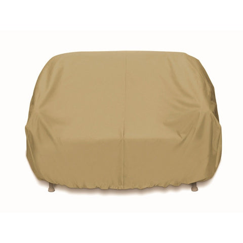 "Two Dogs Designs - 2D-PF88365 - 88"" 3-Seat Sofa Cover (Khaki) - Two Dogs Designs"
