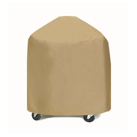 "Two Dogs Designs - 2D-GR33005 - Round 33"" X-Large Grill/Smoker Cover (Khaki) - Two Dogs Designs"