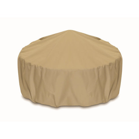 "Two Dogs Designs - 2D-FP36005 - 36"" Fire Pit Cover (Khaki) - Two Dogs Designs"