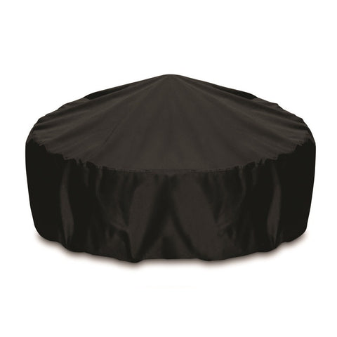 "Two Dogs Designs -  2D-FP48001 - 48"" Fire Pit Cover (Black) - Two Dogs Designs"