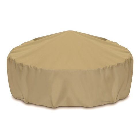"Two Dogs Designs - 2D-FP60005 - 60"" Fire Pit Cover (Khaki) - Two Dogs Designs"