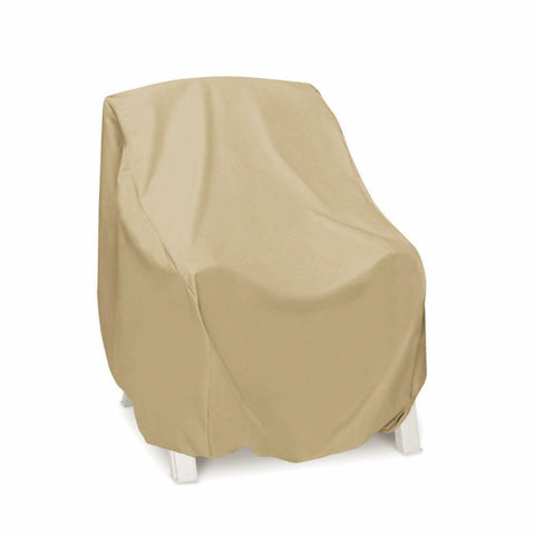 Two Dogs Designs - 2D-PF30345 - High Back Chair Cover (Khaki) - Two Dogs Designs