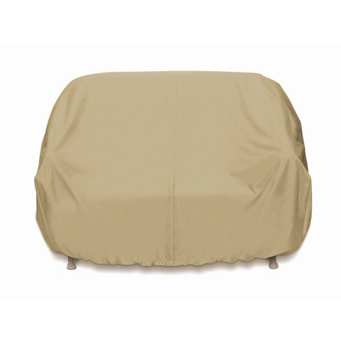 "Two Dogs Designs - 2D-PF63365 - 63"" Loveseat Cover (Khaki) - Two Dogs Designs"